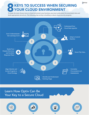 Eight Keys to Success When Securing Your Cloud Environment