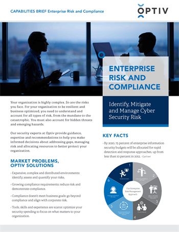 Enterprise Risk and Compliance