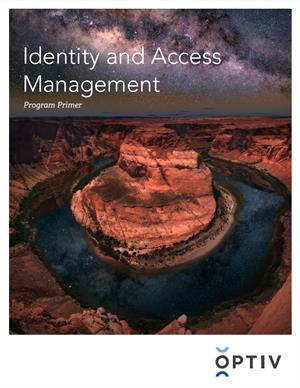 Identity and Access Management Program Primer