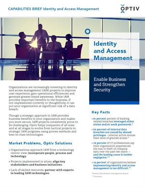 Identity and Access Management Capabilities