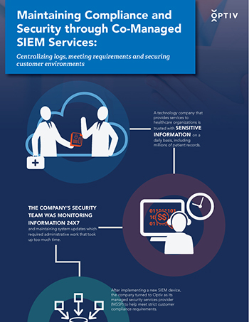 Maintaining Compliance and Security through Co-Managed SIEM Services