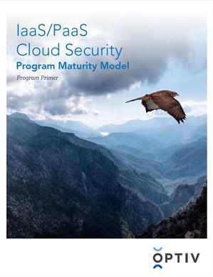 IaaS/PaaS Cloud Security Program Maturity Model