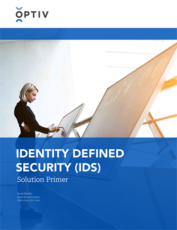 Identity Defined Security (IDS) Solution Primer