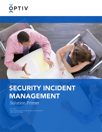 Security Incident Management Solution Primer