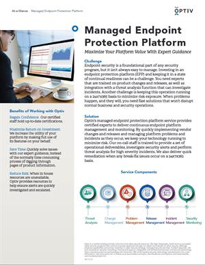 Managed Endpoint Protection Platform