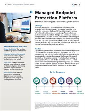 Managed Endpoint Protection Platform
