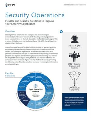 Managed Security Services - Service Guide