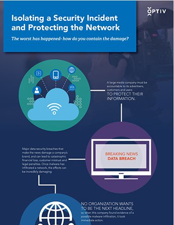 Isolating a Security Incident and Protecting the Network
