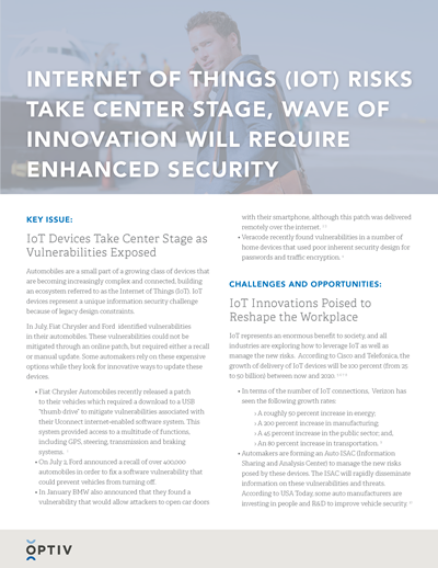 Internet of Things Brief