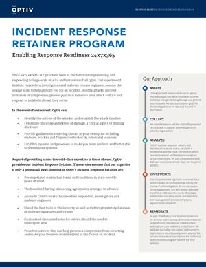 Incident Response Retainer Program