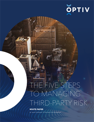 The Five Steps to Managing Third-Party Risk