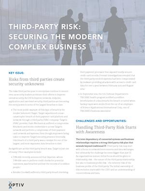 Third-Party Risk Brief