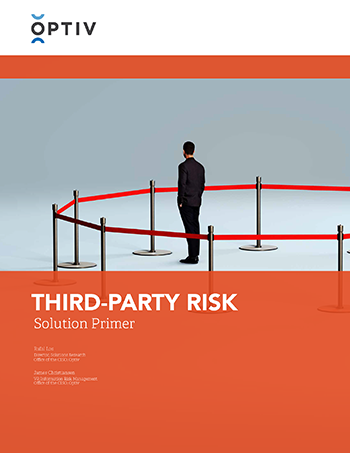 Third-Party Risk Solution Primer