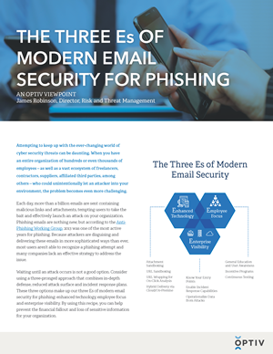 The Three Es of Modern Email Security for Phishing