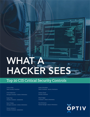 What a Hacker Sees: Top 20 CIS Critical Security Controls