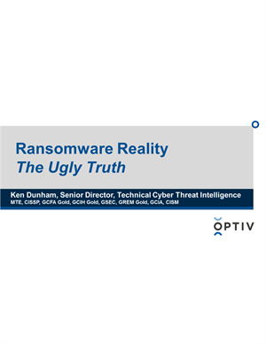 Ransomware Reality: The Ugly Truth