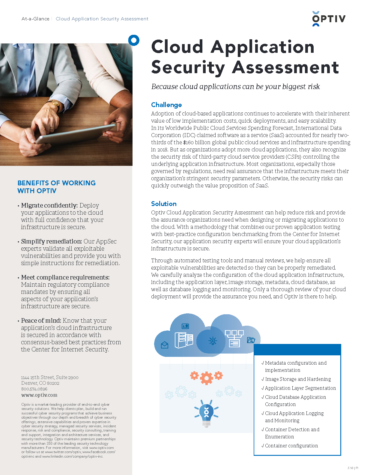 Cloud Application Security Assessment