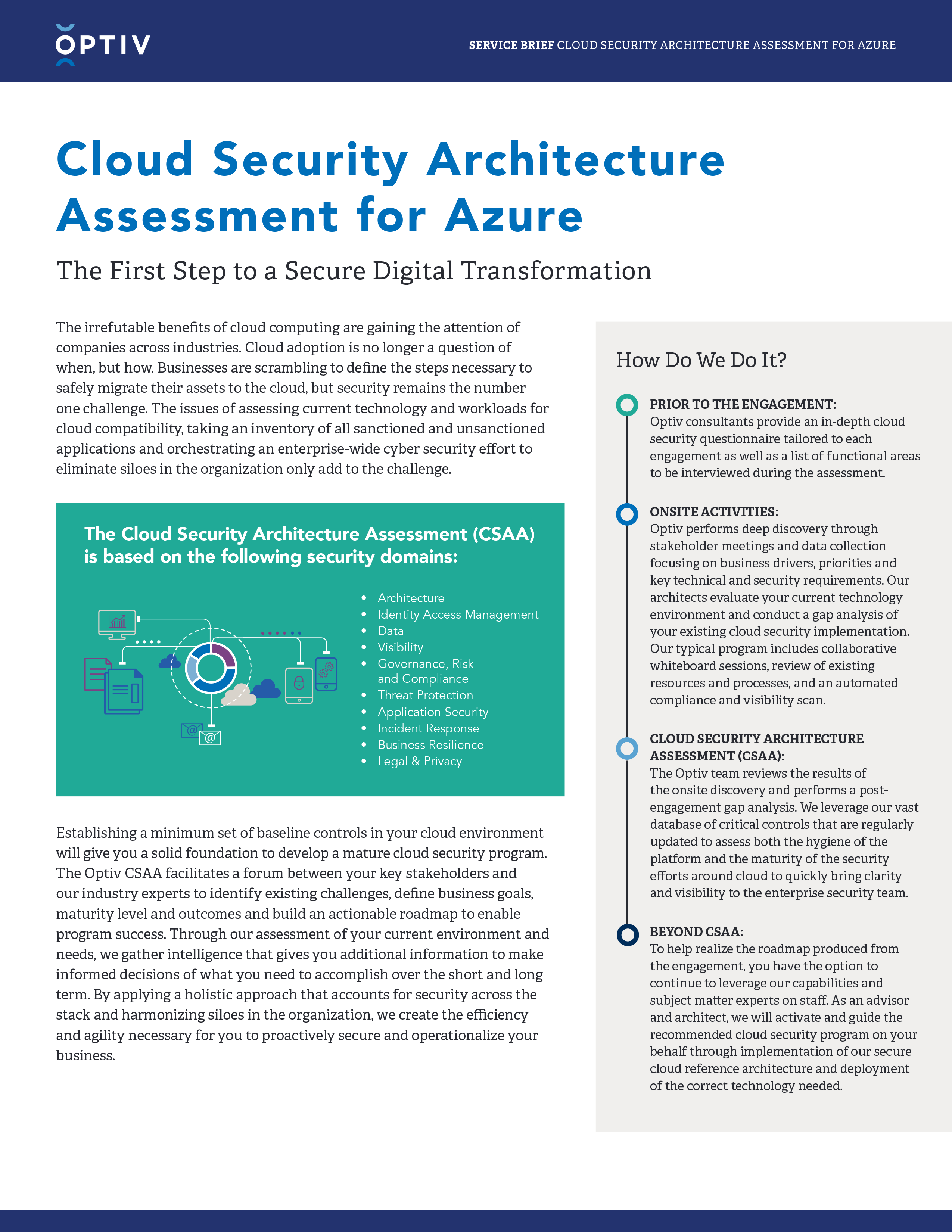 Cloud Security Architecture Assessment for Azure
