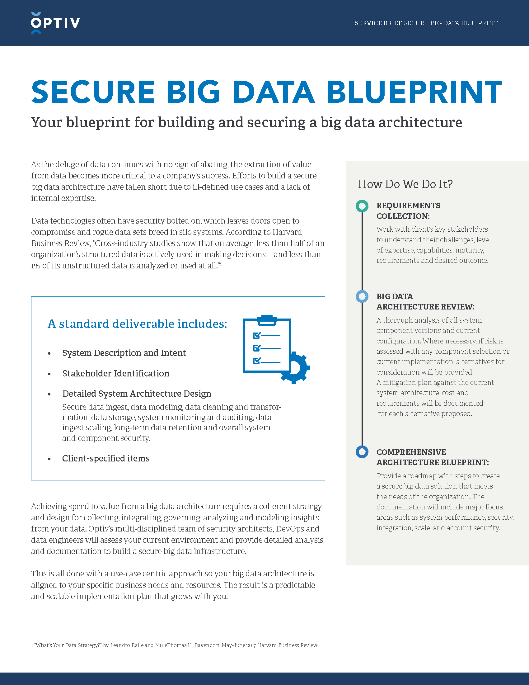 Secure Big Data Blueprint