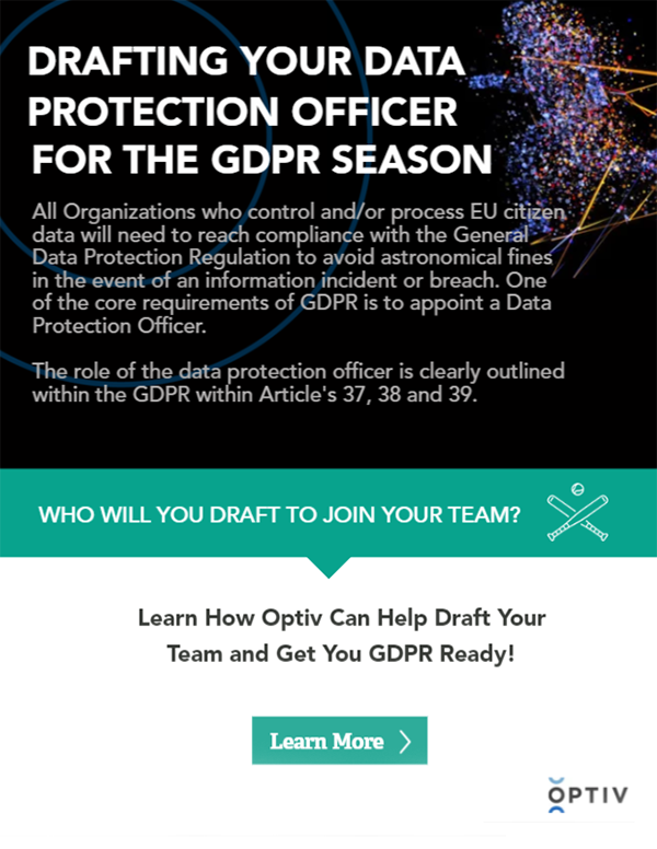 Drafting Your Data Protection Officer