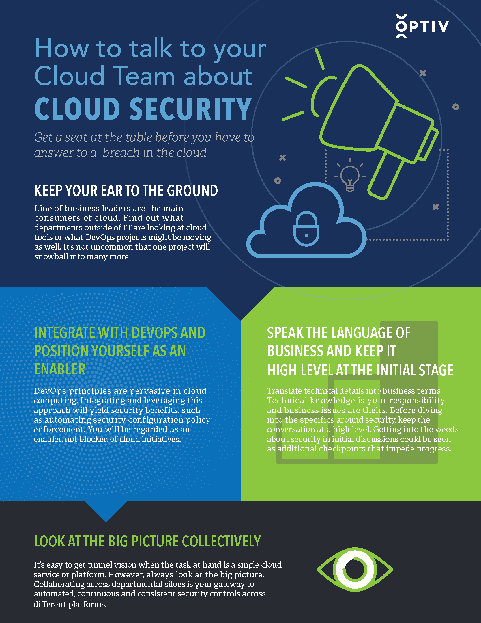 How to Talk to Your Cloud Team About Cloud Security