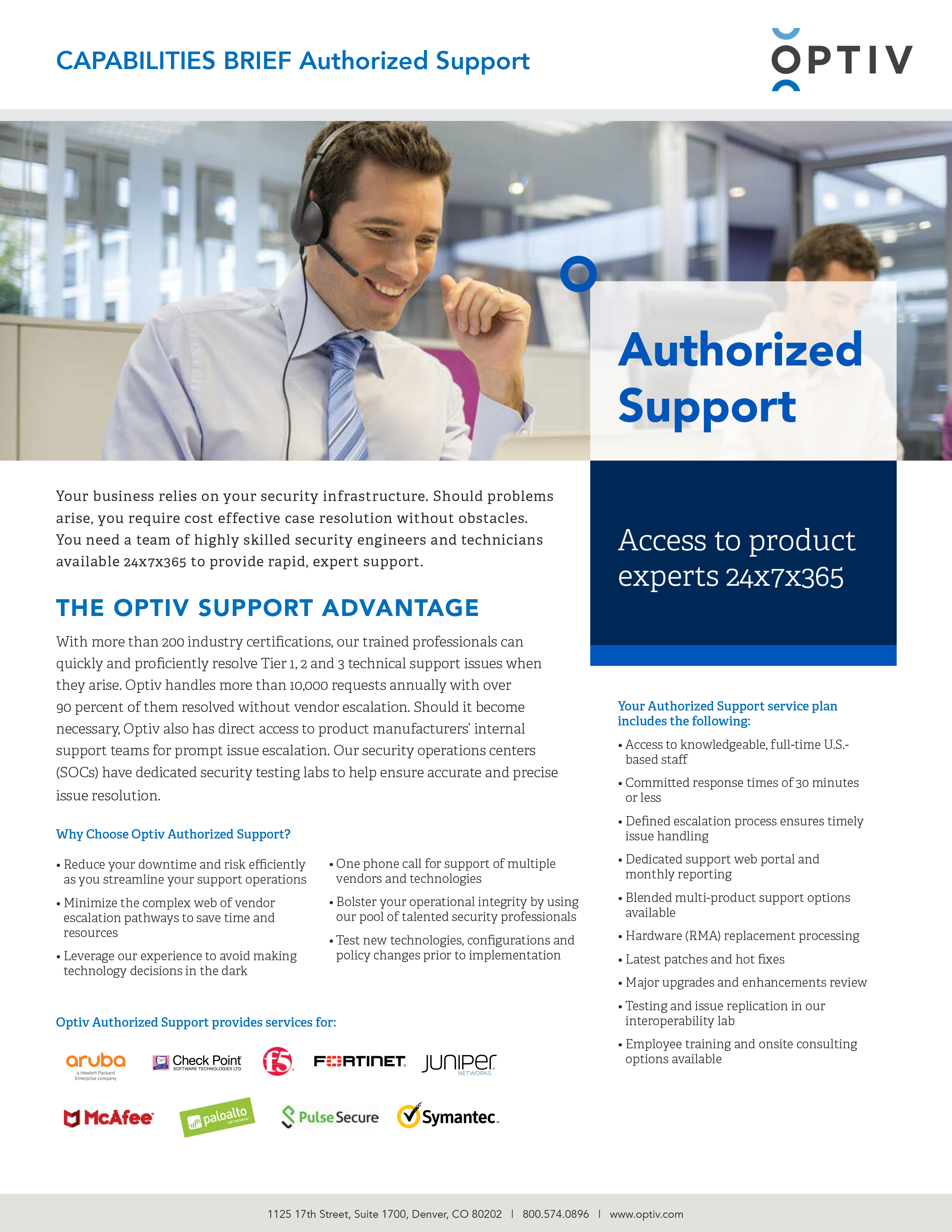 Authorized Support