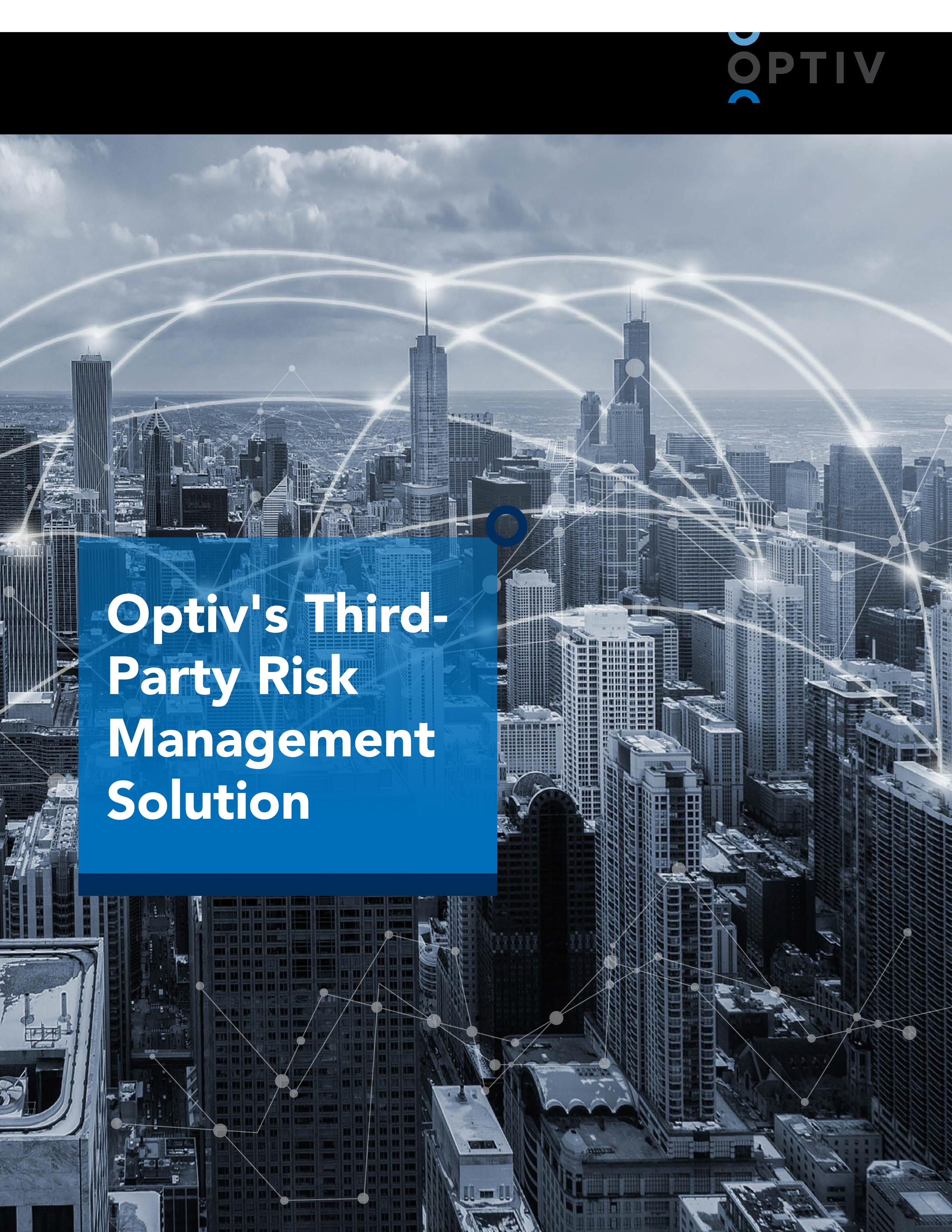 Optiv's Third-Party Risk Management Solution