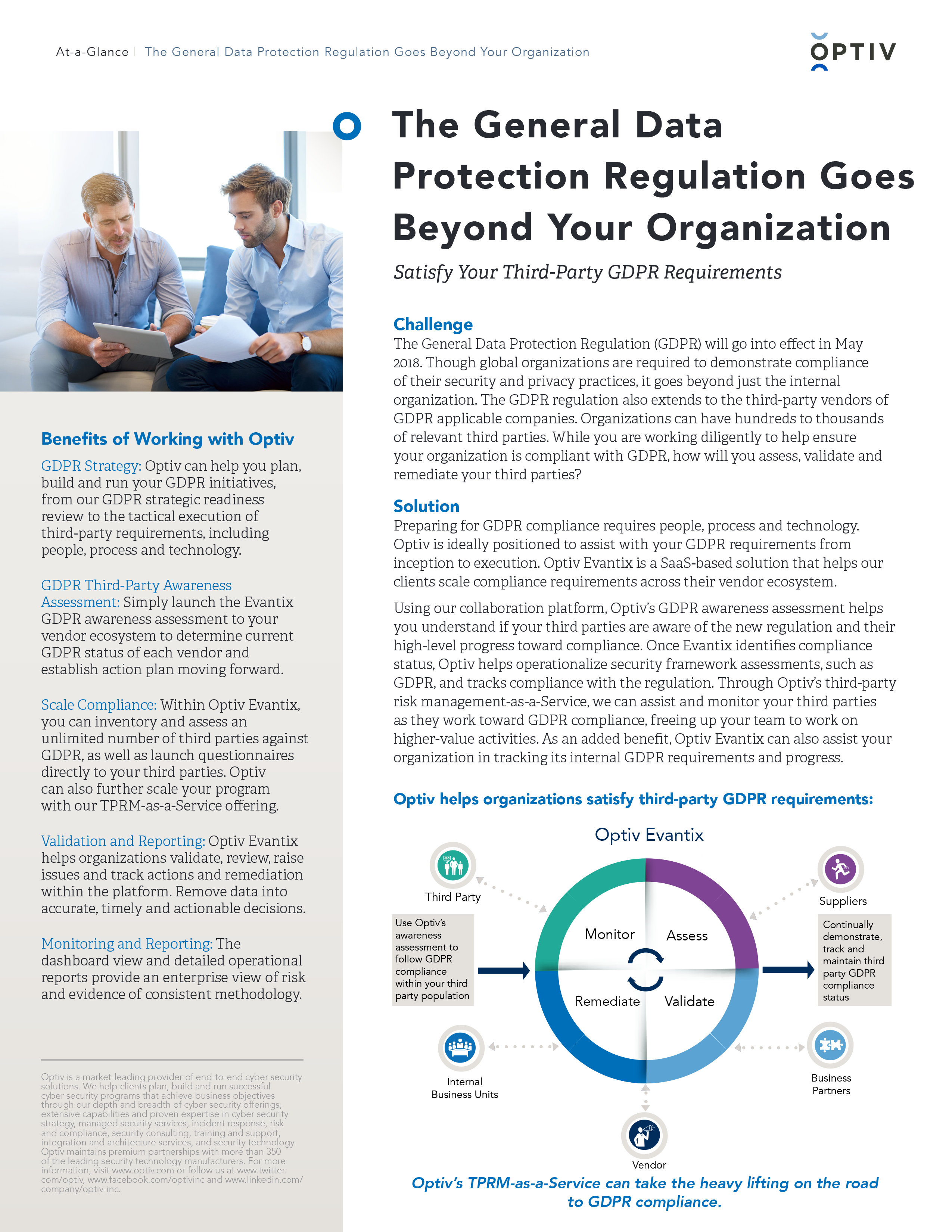 Satisfy Your Third-Party GDPR Requirements