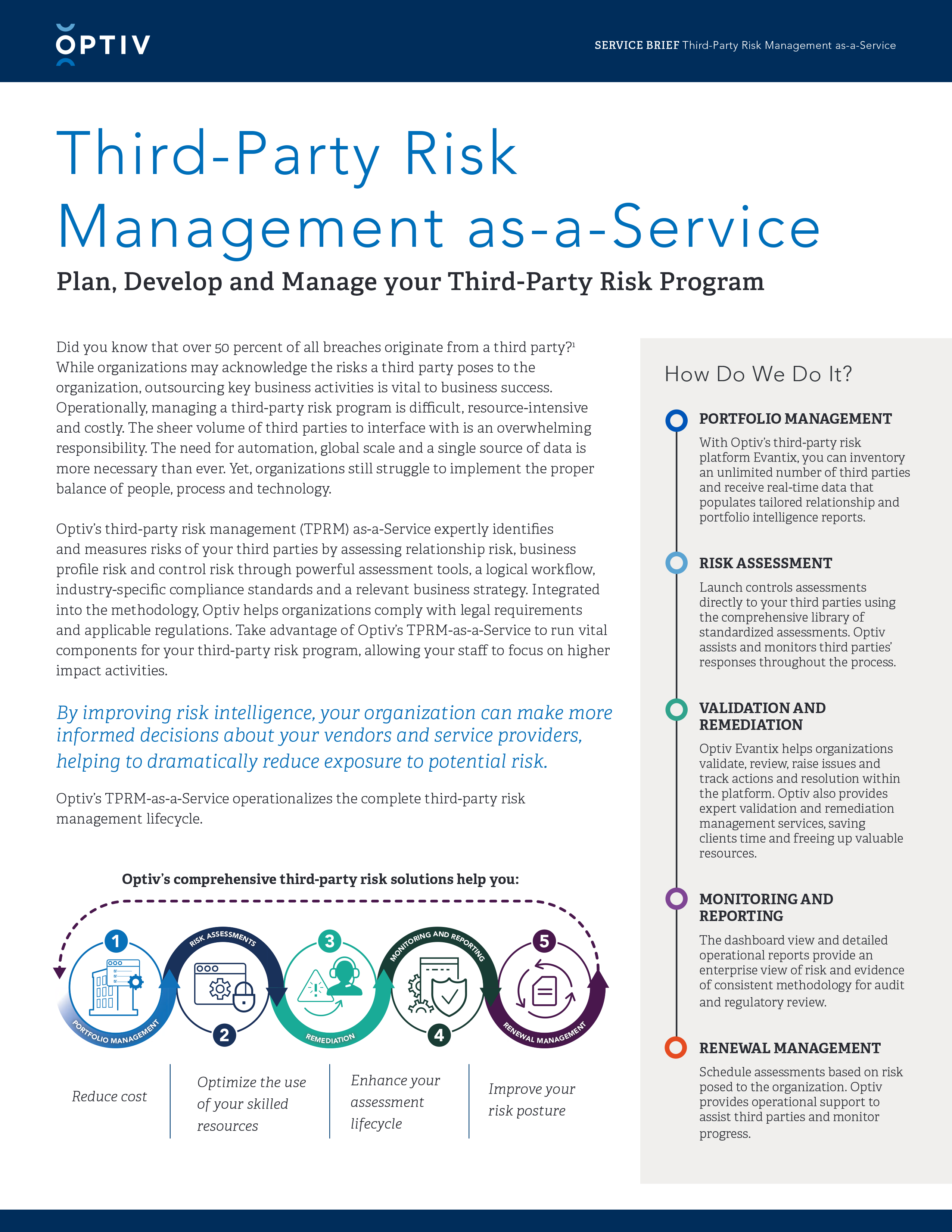 Third-Party Risk Management-as-a-Service