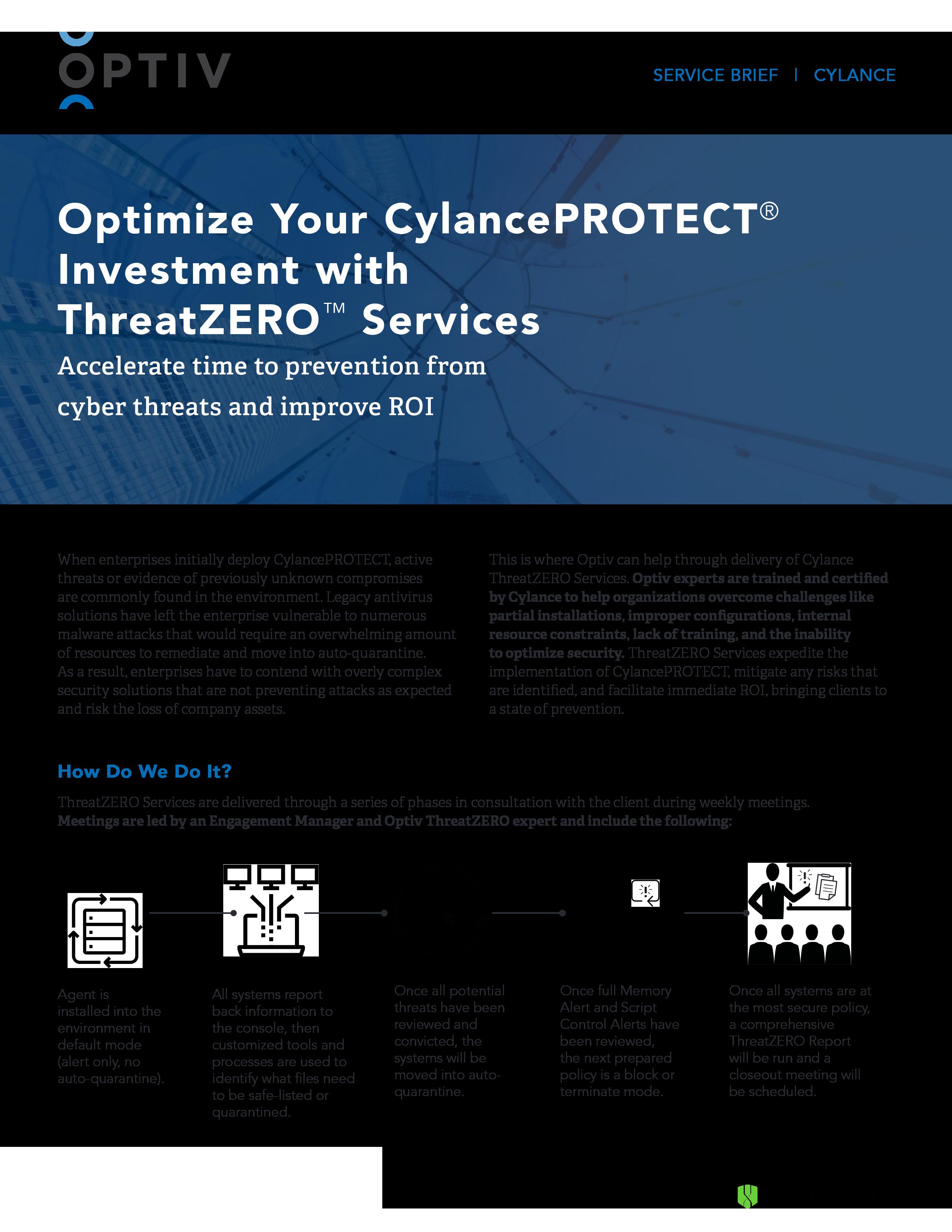 Cylance ThreatZERO Services