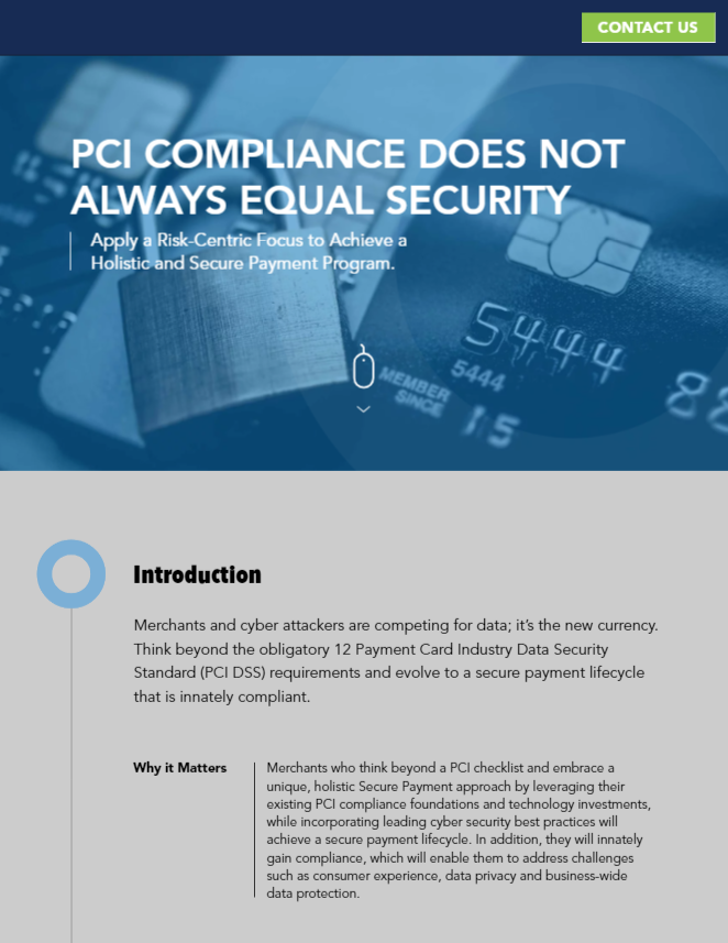 PCI Compliance Does Not Always Equal Security