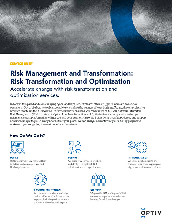 Risk Management and Transformation: Risk Transformation and Optimization