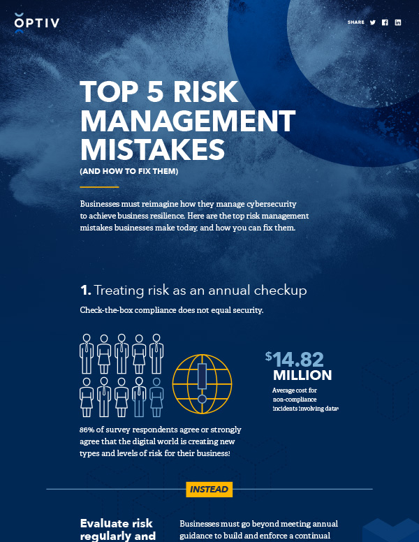 Top 5 Risk Management Mistakes (And How To Fix Them)