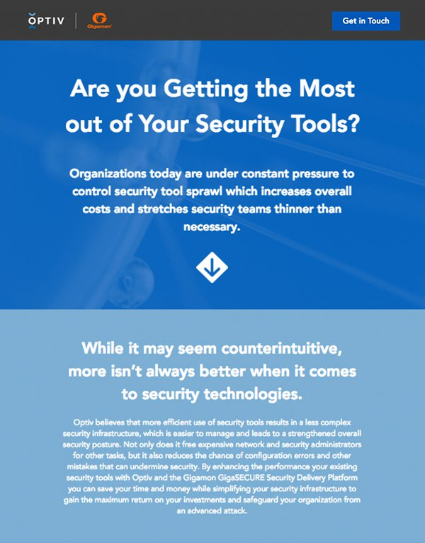 GigaSECURE Infographic