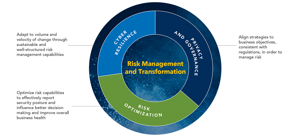 Risk Management and Transformation Pinwheel