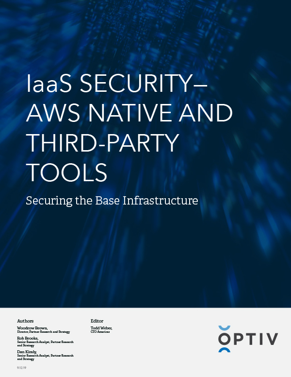 IaaS Security - AWS Native and Third-Party Tools