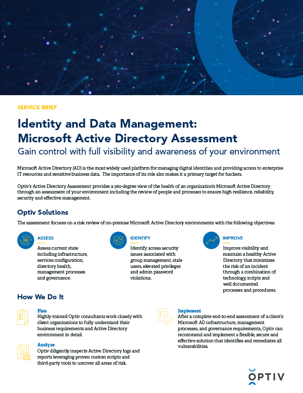 Active Directory Assessment