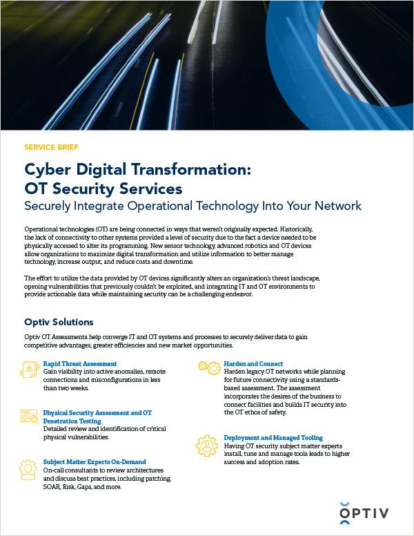 Operational Technology (OT) Security