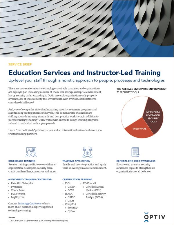 Optiv Educational Services