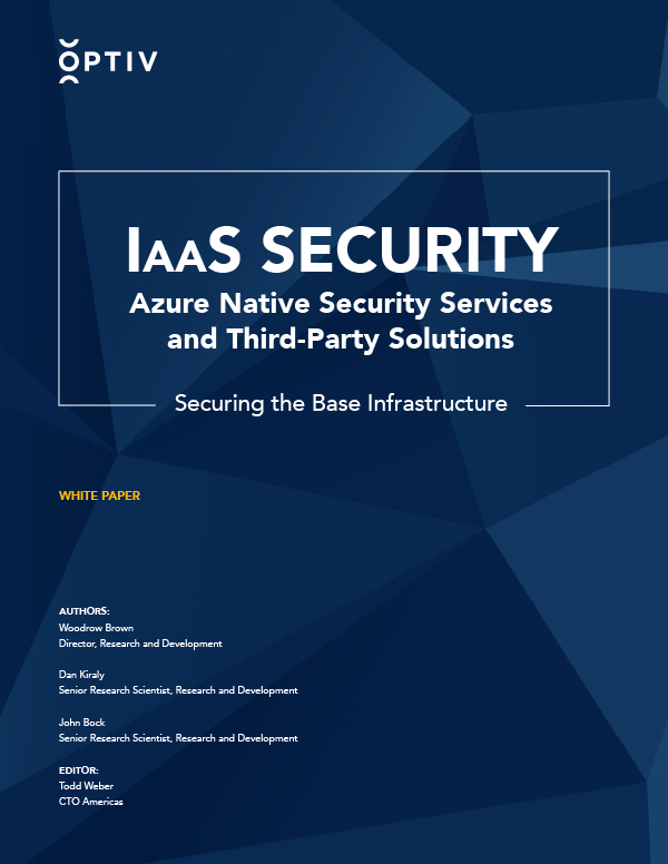 Azure Native Security Services and Third-Party Solutions