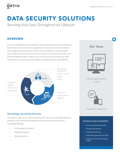 Data Security Service Guide