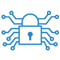 Network Security Technology Icon