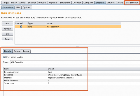 Using Burp Suite with WS Security 1