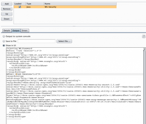 Using Burp Suite to Test Web Services with WS-Security 6